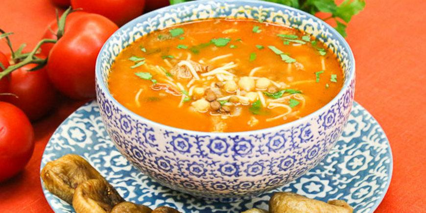 Марокканский мясной суп