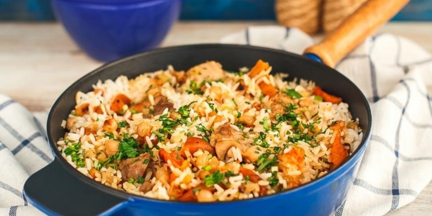 Курица с рисом по-ирански