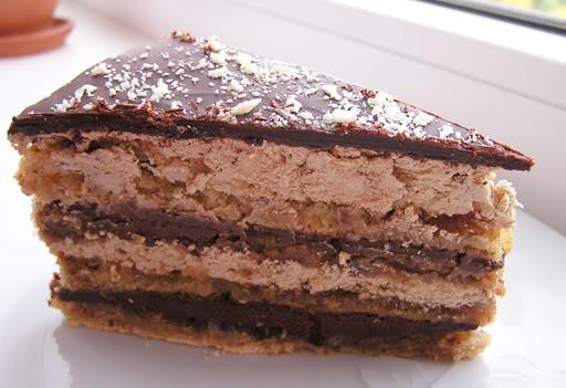 Шоколадный торт Мокка