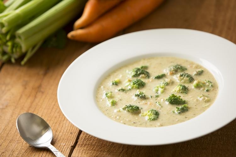 Суп-пюре с брокколи и куриным филе