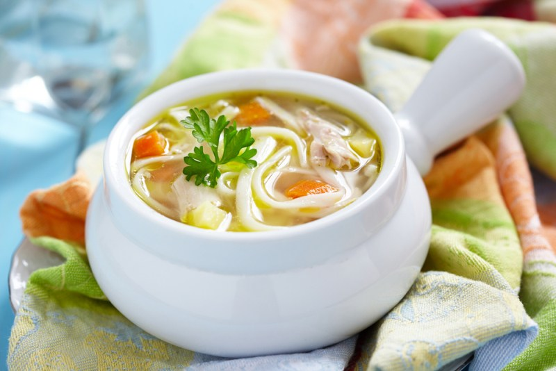 Куриный суп с секретом