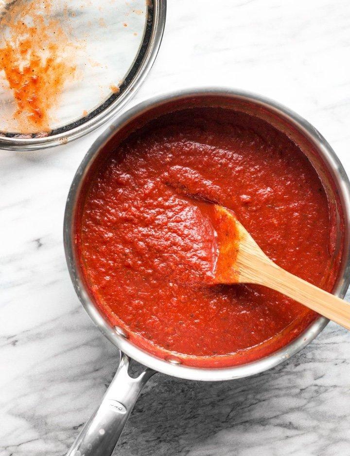 Густой томатный соус для пиццы