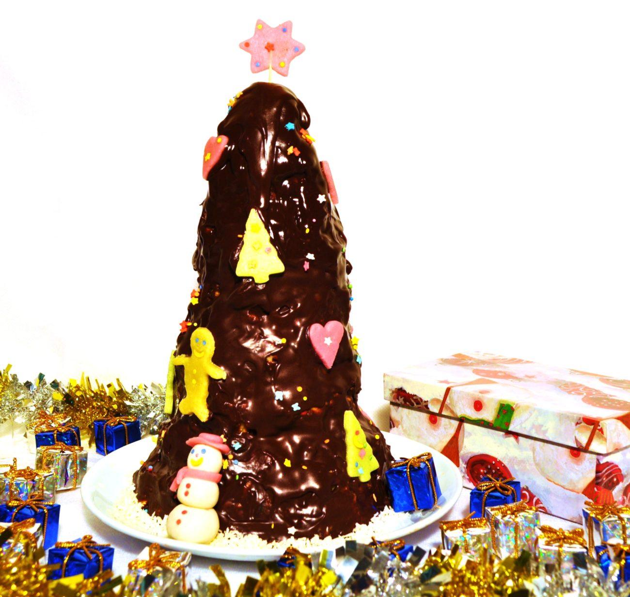 Шоколадная елка или новогодний муравейник