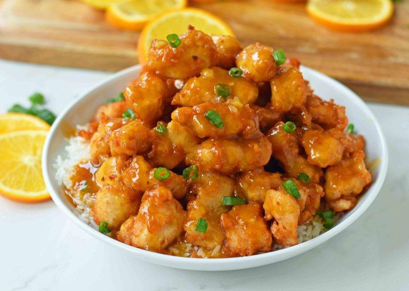 "Рецепт китайского блюда ""Orange Chicken"""
