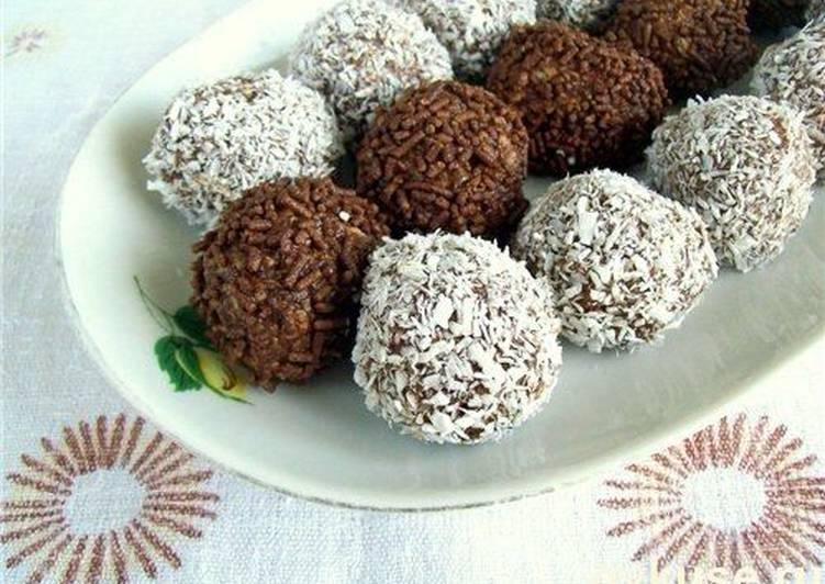 Шоколадные «Ёжики»
