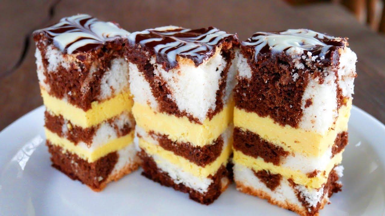 Фантастический торт с необыкновенным кремом