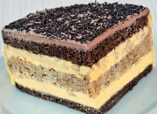 Огни Парижа – фантастический торт с шоколадно-ореховым вкусом