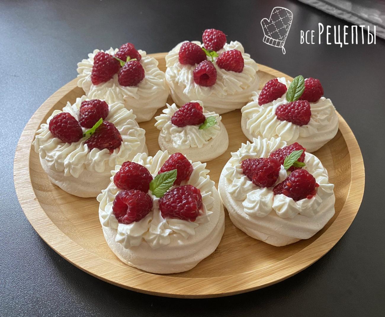 Классический десерт Павлова