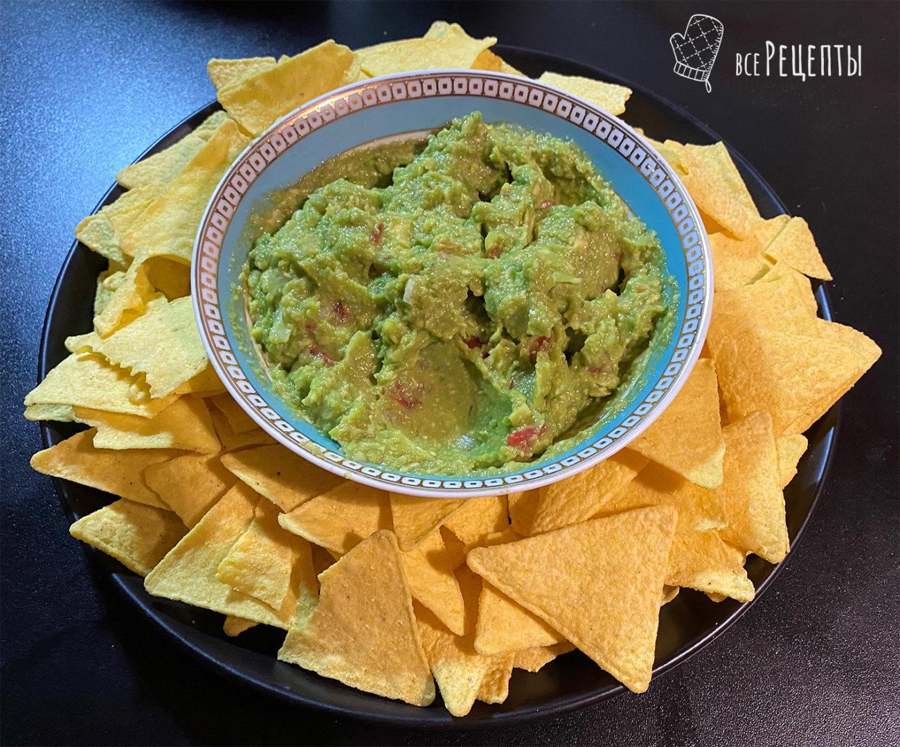 Простой рецепт мексиканского гуакамоле